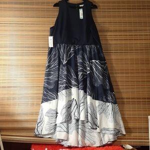 Nwt stitch fix / hutch altana 2fer knit maxi dress